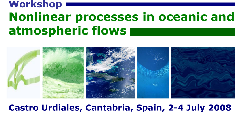 Nonlinear Processes in Oceanic and Atmospheric Flows